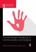 The Routledge Handbook of Communication and Bullying PDF
