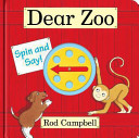 Dear Zoo Spin and Say Book