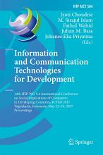Information and Communication Technologies for Development PDF