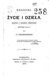 Krasicki: życie i dzieła, kartka z dziejów literatury XVIII wieku