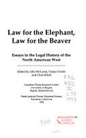 Law for the Elephant  Law for the Beaver PDF