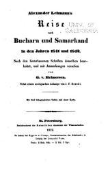 Beitr  ge zur Kenntniss des russischen Reiches und der angrenzenden L  nder Asiens PDF