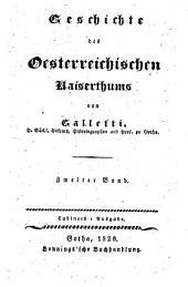 Geschichte des österreichischen Kaiserthums: Band 2