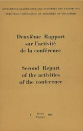 Second Report on the activities of the conference 1955