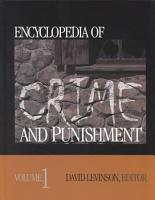Encyclopedia of Crime and Punishment PDF