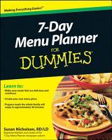 7 Day Menu Planner For Dummies PDF