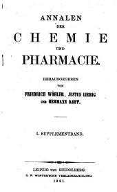 Annalen der Chemie und Pharmacie: 1861-1863, Bände 1-2