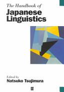 The Handbook of Japanese Linguistics