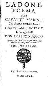 L' Adone: Poema, Volume 1