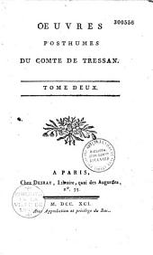 Oeuvres choisies du comte de Tressan...