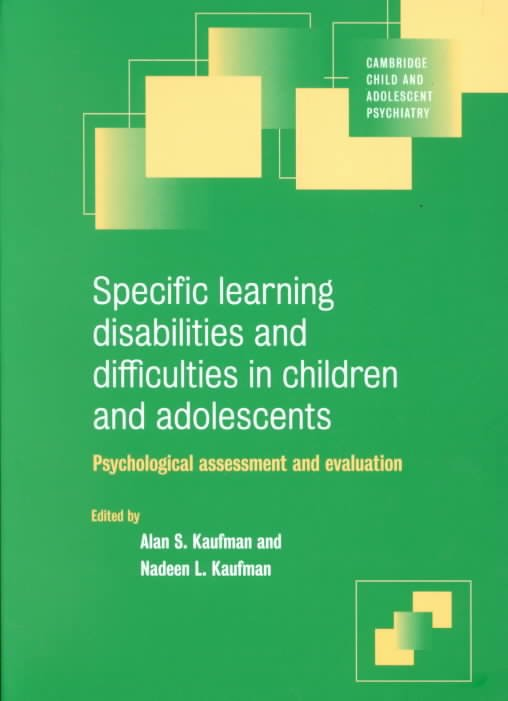Specific Learning Disabilities and Difficulties in Children and Adolescents