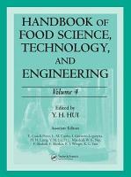Handbook of Food Science  Technology  and Engineering PDF