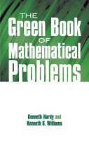 The Green Book of Mathematical Problems PDF