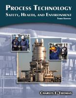 Process Technology  Safety  Health  and Environment PDF