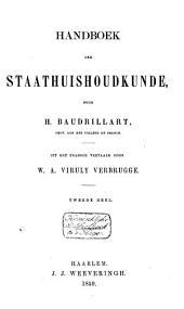 Handboek der staathuishoudkunde: Volume 2