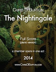 The Nightingale   Full Score  Piano Version  Book