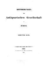 Mitteilungen: Bände 7-9