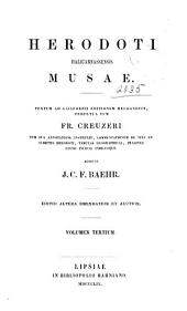 Herodoti Halicarnassensis Musae: Terpsichore. Erato. Polymnia