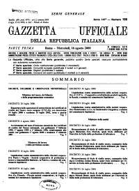Gazzetta ufficiale della Repubblica italiana  Parte prima  serie generale PDF