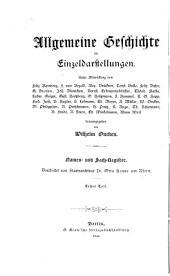 Namen- und Sach-Register zur Allgemeinen Geschichte in Einzeldarstellungen: Teil 1