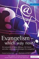 Evangelism   Which Way Now  PDF