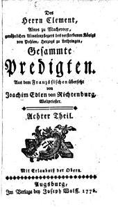 Gesammte Predigten: Band 8