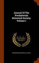 Journal of the Presbyterian Historical Society PDF