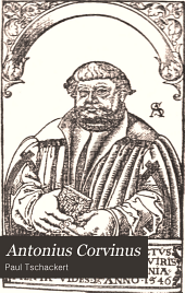 Antonius Corvinus Leben und Schriften: Bände 3-4