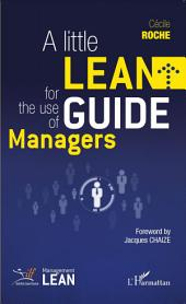 Little Lean Guide for the Use of Managers