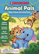 Animal Pals Wipe Clean Activity Book PDF