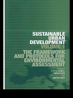 Sustainable Urban Development Volume 1 PDF