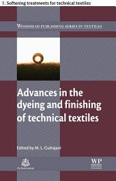 Advances in the dyeing and finishing of technical textiles: 7. Softening treatments for technical textiles
