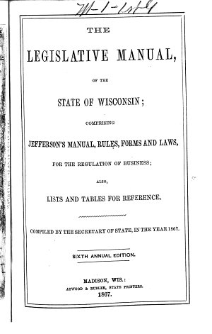 The State of Wisconsin Blue Book