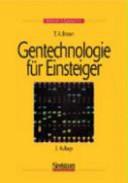 Gentechnologie f  r Einsteiger PDF