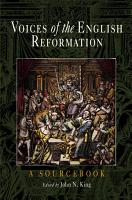Voices of the English Reformation PDF