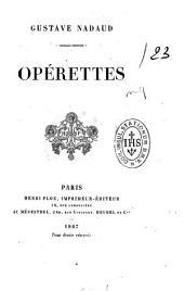 Opérettes: Volume4