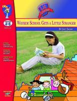 Wayside School Gets a Little Stranger Lit Link Gr  4 6 PDF