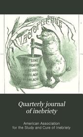 Quarterly Journal of Inebriety: Volume 13, Issue 4