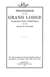 Proceedings of the Grand Lodge of Illinois