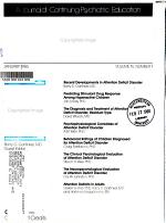 Psychiatric Annals PDF