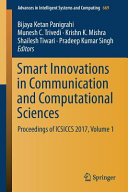 Smart Innovations in Communication and Computational Sciences PDF