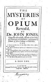 The Mysteries of Opium
