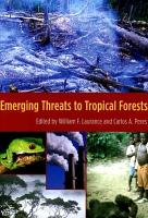 Emerging Threats to Tropical Forests PDF