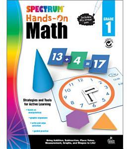 Spectrum Hands On Math   Grade 1 PDF