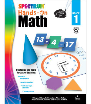 Spectrum Hands On Math   Grade 1