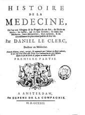 Histoire de la médecine: Volume1