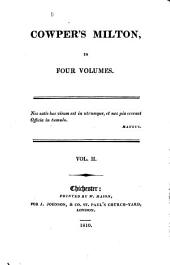 Paradise Lost, and the Fragment of a Commentary upon it by William Cowper