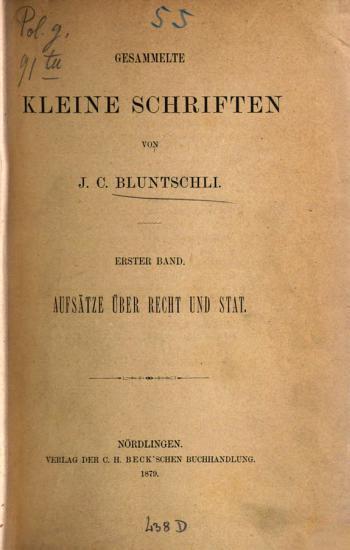 Gesammelte Kleine Schriften PDF