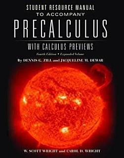 Precalculus With Calculus Previews Book