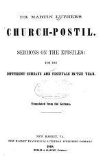 Dr. Martin Luther's Church-postil